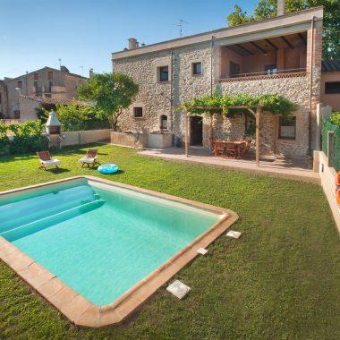 Cal Ferrer Pujol - piscina