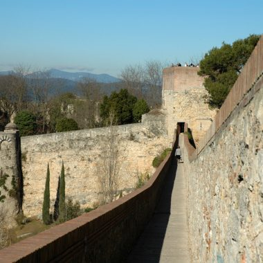 Girona, muralles